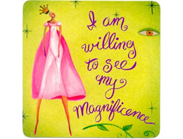 I am willing to see my Magnificence